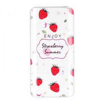Hoco B7 10000mah Fruit-Style Power Bank (B7-10000) strawberry