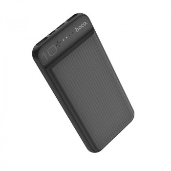 Hoco J52 10000mah, 2xUSB 2A, microUSB/Type-C input (J52-10000) black