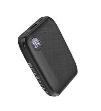 Hoco J53 10000mah, USB 2A, LED, microUSB/Type-C input (J53-10000) black