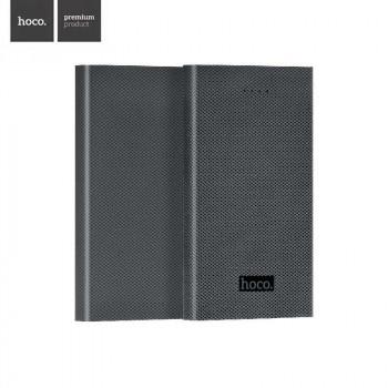 HOCO B12-13000 Carbon Fiber Style Power Bank 13000 mah Gray