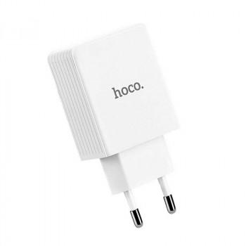 Сетевое зарядное устройство Hoco C34A Platinum Intelligent QC 3.0 18W Fast Charger