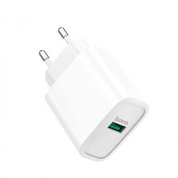 Сетевое зарядное устройство Hoco C69A Dynamic power charging adapter 22.5W
