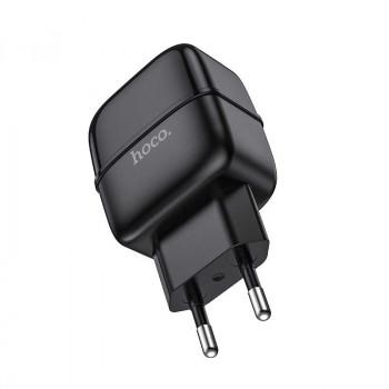 Сетевое зарядное устройство Hoco C77A Highway dual USB output 2.4A wall charger