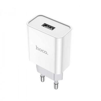 Hoco C81A, 2.1Аmax, 1USB, white