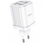 Hoco C84A Resolute, 3.4А, 4USB, white