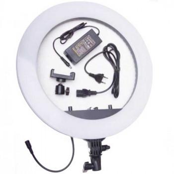 Кольцевая светодиодная лампа LED Soft Ring Light  45 см с держателем для телефона