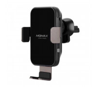 Momax Q.Mount Smart Auto Clamping Wireless Charging Car Mount, 10W/7.5W (CM11DH) black