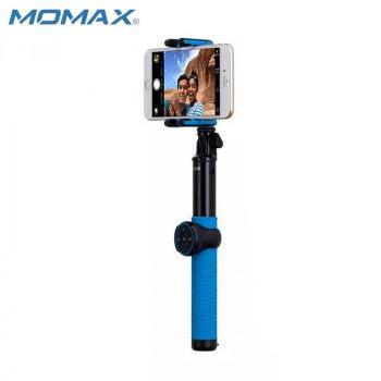 Монопод MOMAX SELFIE HERO KMS7 100 cm blue (+трипод)