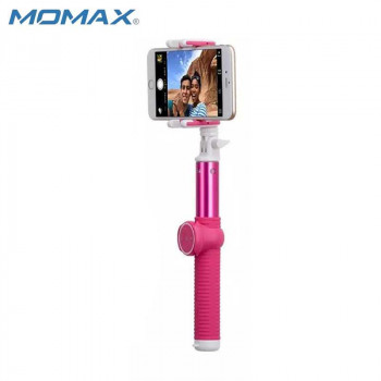 Монопод MOMAX SELFIE HERO KMS7 100 cm pink (+трипод)