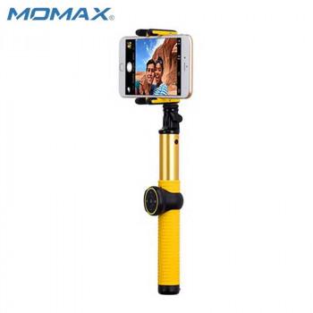 Монопод MOMAX SELFIE HERO KMS7 100 cm yellow (+трипод)