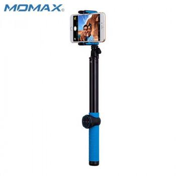 Монопод MOMAX SELFIE HERO KMS8 150 cm blue (+трипод)