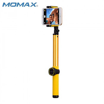Монопод MOMAX SELFIE HERO KMS8 150 cm yellow (+трипод)