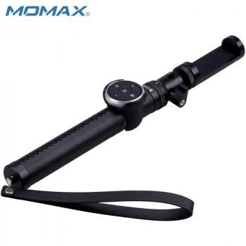 Монопод MOMAX SELFIE PRO KMS4 90cm black (+трипод)