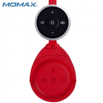 Momax U.REMOTE Multi-Function Bluetooth Shutter BR03S red