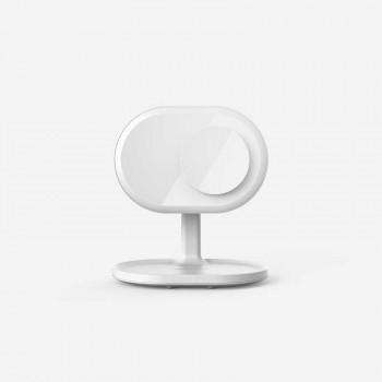 Беспроводное зарядное устройство Momax QL3 Q.Led Mirror with Wireless Charging and Bluetooth Speaker