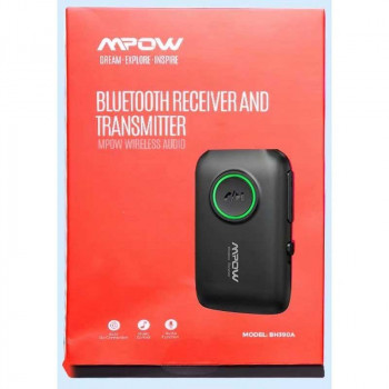 MPOW Bluetooth Receiver And Transmitter (BH390A) black