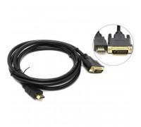 Telecom HDMI to DVI-D Dual  Link, 5m, 2 фильтра, черный