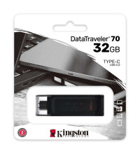 Kingston DataTraveler 70 USB 3.2 Type-C Flash Drive 32GB (DT70/32GB)