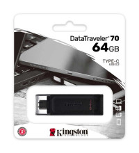 Kingston DataTraveler 70 USB 3.2 Type-C Flash Drive 64GB (DT70/64GB)