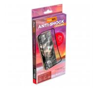 FaisOn GL-02 стекло для iPhone 12 Pro, 6.1, Anti-Shock Ceramic, глянцевое, полный клей, black