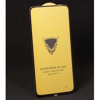 Golden Armor OG tempered glass for iPhone XS Max, глянцевое, полный клей, черный