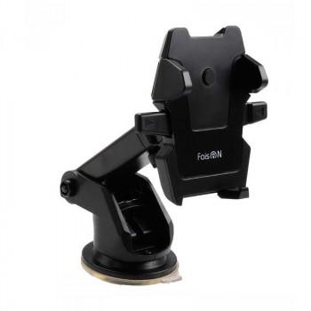 FaisOn Transform, держатель на стекло и панель, телескоп. нога, черный