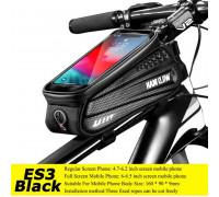 Сумка на велосипед водонепроницаемая WILD MAN ES3 black