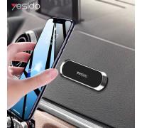 Yesido C83 Magnetic Holder, плоский, на панель, темно-серый