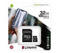 Kingston micro SDHC 32Gb Canvas Select Plus, 100Mb/s read (SDCS2/32GB)