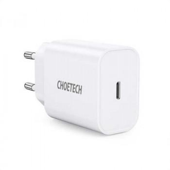 Choetech Q5004 20W USB-C PD Charger, white