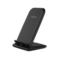 Choetech 15w Fast Wireless Charging Stand, 2-coil (T555-F) black