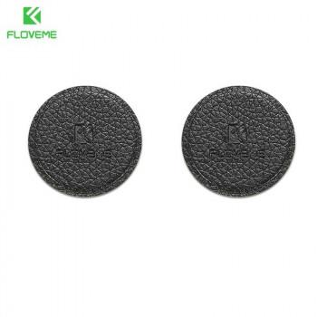 Floveme Magnetic Leather Plates, набор из 2-х кожаных пластин для магнитного держателя (black)