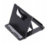 Держатель на стол для телефона FoldStand DZ-902, черный
