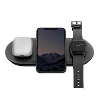 AirPower Wireless Charger, беспроводная зарядка 3-в-1 Phone+iPod+iWatch 1-5s, black