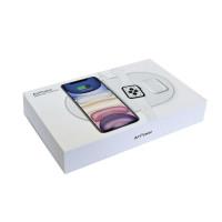 AirPower Wireless Charger, беспроводная зарядка 3-в-1 Phone+iPod+iWatch 1-5s, white