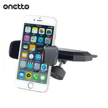 Держатель автомобильный Onetto CD Slot Mount One Handed в CD-Rom для телефона (CS2&SM6)