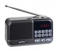 Perfeo Aspen, радиоприемник (i20-GR) темно-серый