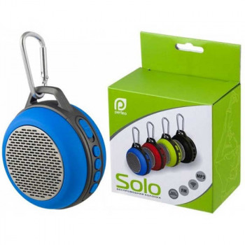 Perfeo Solo, BT колонка (PF-BT-SOLO-BL) синий