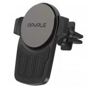 Ppyple Wireless View M, в решетку, Qi 10w, магнитный (XWM100) black