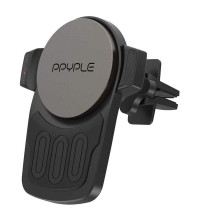 Ppyple Wireless View M, в решетку, Qi 10w, магнитный (XWM100) black