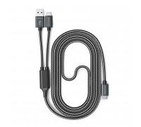 RAVPower USB Type-C to USB Type-C/USB A Plug Cable 1m (RP-TPC006) black