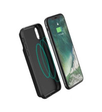 RavPower Wireless TX/RX Battery Case for iPhone X, QY 5w, 3200mAh (RP-PB120) black