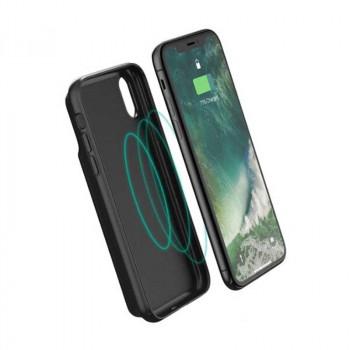 RavPower Wireless TX/RX Battery Case for iPhone X, Qi 5w, 3200mAh (RP-PB120) black