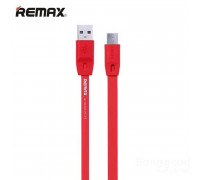 Remax Full Speed Series MicroUSB, 1m (RC-001m) red