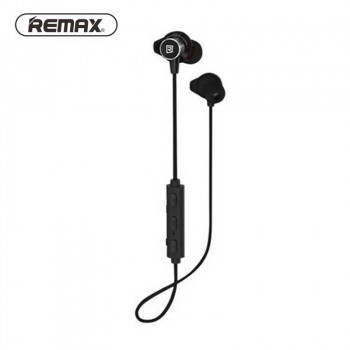 Беспроводные cтерео-наушники Remax RB-S10 Magnetic Sport Bluetooth Earphone black