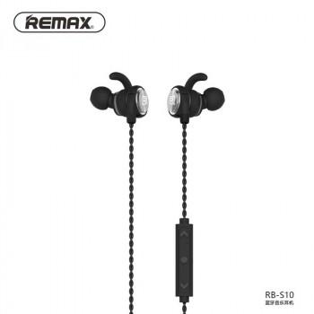 Беспроводные cтерео-наушники Remax RB-S10 Magnetic Sport Bluetooth Earphone black