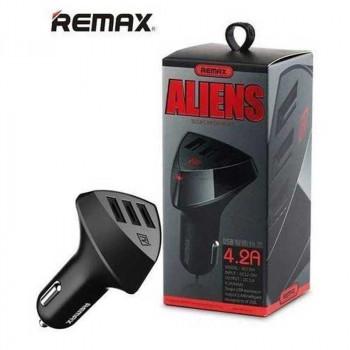 Remax Aliens 4.2А на 3 USB (RCC-304) черный