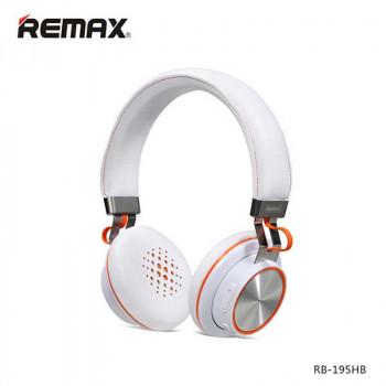 Беспроводные наушники Remax Bluetooth V4.1 Headphones (RB-195HB) white