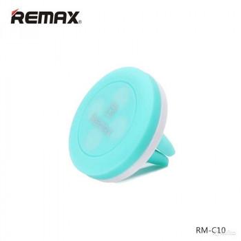 Магнитный держатель для телефона на решетку Remax RM-C10 blue