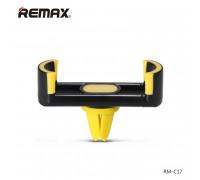 Remax RM-C17 Car Vent Holder (черный с желтым)